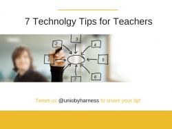 Technology Tips for Teachers